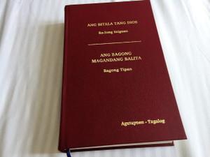 The New Testament in Agutaynen and Tagalog Language – Ang Bitala Tang Dios Ba-long Inigoan – Ang Bagong magandang Balita – Bagong Tipan / CATHOLIC / Color Maps and Illustrations / Native to the Philippines