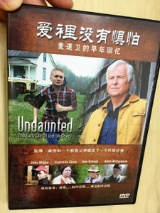 Undaunted / The Early Life of Josh McDowell / CHINESE ONLY DVD
