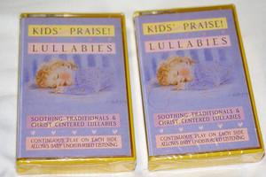 Kids' Praise! Lullabies / Maranatha! Music /  Soothing traditionals & Christ centered lullabies / Original recording, Dolby / RETRO AUDIO CASSETTE