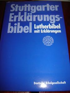 German Stuttgarter Study Bible / Stuttgarter Erklarungsbibel / Lutherbibel
