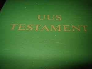 Estonian New Testament / Uus Testament [Paperback] by Bible Society