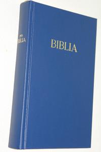 Blue Hungarian Bible / MAGYAR BIBLIA: Egyszerű fordítás (EFO) / Keményborító kék műbőr kötés / Imitation Leather Hardcover / Modern Hungarian Language Easy to Read