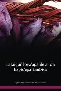 Highland Oaxaca Chontal New Testament / Lataiqui' loya'apa iƚe al c'a lixpic'epa L̵anDios (CHDWBT) / Highland Oaxaca Chontal New Testament / Mexico