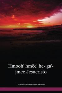 Ozumacín Chinantec Language New Testament / Hmoohˊ hmëëꜘ heˉ gaꜙjmeeꜘ Jesucristo (CHZWBT) / Ozumacín Chinantec 2003 Edition / Mexico