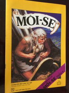 MOI-SE / CÂU CHUYỆN VỀ MỐI-SẼ PHẢN 2 / Vietnamese Language Children's Bible Comic Book About the life of Moses Part 2 / Vietnam