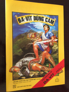 ĐAVÍT DŨNG CẢM / CAU CHUYEN VE DA-VỊT PHÂN 1 / Vietnamese Language Children's Bible Comic Book About the life of David Part 1 / Vietnam