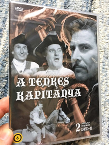 A Tenkes Kapitánya / The Captain of Tenkes / 2 DVD Set / Hungarian Movie / Magyar Film / Hungary / Örsi Ferenc / Fejér Tamás / Zenthe Ferenc