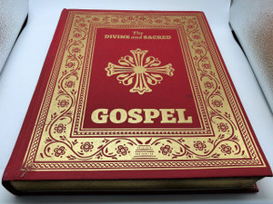 The Divine and Sacred Gospel by Michael Monos (Author), Rev. Fr. Michael Monos (Editor), Goce Ilievski, Vladimir Ilievski (Illustrator) the Holy Gospel arranged according to liturgical usage in the Orthodox Church