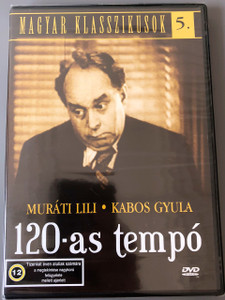 120-as tempó DVD / Magyar Klasszikusok 5. / magyar vígjáték, 71 perc, 1937 / Directed by Kardos László / Actors: Básti Lajos; Muráti Lili; Mihályffi Béla; Kabos Gyula; Dénes György (5999881068900)