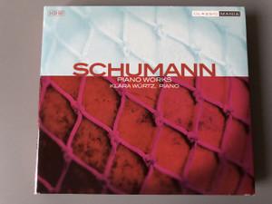 Various Schumann Piano Works / Componist: Robert Schumann / Pianist: Klara Würtz / Klavierwerke 3 CDs by CLASSICMANIA