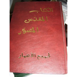 Arabic Comic Strip Bible / Beautiful Hardcover Arabic Bible for people that h... 1