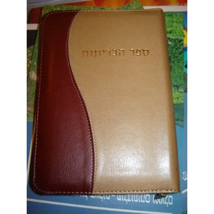 Hebrew Bible [Leather Bound] by Bible Society