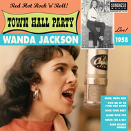 "WANDA JACKSON - LIVE AT TOWN HALL PARTY 1958 (10"")"