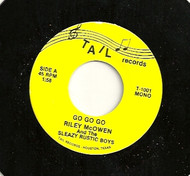 RILEY McOWEN AND SLEAZY RUSTIC BOYS - GO GO GO/ALL I CAN DO IS CRY
