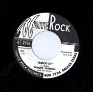 TOMMY HUDSON/SAVOYS - ROCK IT/WALKIN' THE STROLL