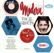 MODERN VOCAL GROUPS VOL. 4 (CD)