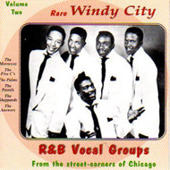 RARE WINDY CITY R&B VOCAL GROUPS VOL. 2 (CD)