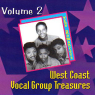 WEST COAST VOCAL GROUP TREASURES VOL. 2 (CD)