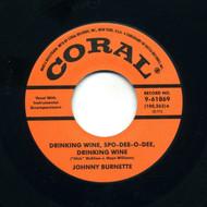 JOHNNY BURNETTE TRIO - DRINKIN' WINE SPO-DEE-O-DEE