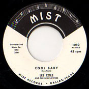 LEE COLE - COOL BABY
