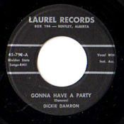 DICKIE DAMRON - GONNA HAVE A PARTY