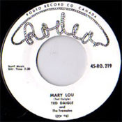 TED DAIGLE - MARY LOU (45)