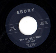 DON FEGER - DATE ON THE CORNER (45) EBONY