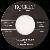 RHYTHM ROCKERS - TEENAGER'S PARTY