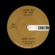 JACK SCOTT- I NEVER FELT LIKE THIS