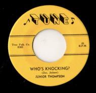 JUNIOR THOMPSON - WHO'S KNOCKIN'