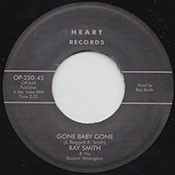 RAY SMITH - GONE BABY GONE