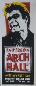 ARCH HALL, JR POSTER