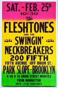 FLESHTONES / SWINGIN' NECKBREAKERS POSTER