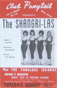 SHANGRI-LAS / IGUANAS POSTER