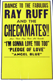 CHECKMATES WITH RAY RUFF POSTER