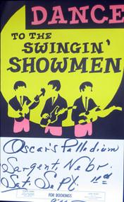 SWINGIN' SHOWMEN POSTER