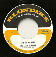 TABLE TOPPERS - TALK TO ME BABY