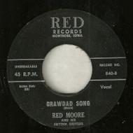 RED MOORE - CRAWDAD SONG