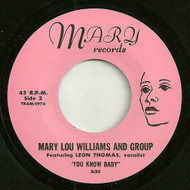 MARY LOU WILLIAMS - YOU KNOW BABY