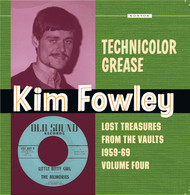 396 KIM FOWLEY - TECHNICOLOR GREASE LP (396)