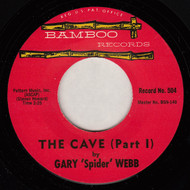 "GARY ""SPIDER"" WEBB - THE CAVE"