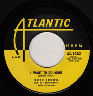 RUTH BROWN - I WANT TO DO MORE