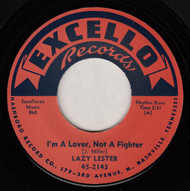 LAZY LESTER - I'M A LOVER, NOT A FIGHTER