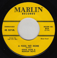 EDDIE HOPE - A FOOL NO MORE