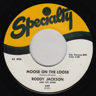 RODDY JACKSON - THERE'S A MOOSE ON THE LOOSE