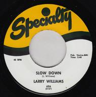 LARRY WILLIAMS - SLOW DOWN / DIZZY MISS LIZZY