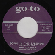 KING COLEMAN - DOWN IN THE BASEMENT