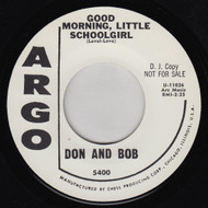 DON AND BOB - GOOD MORNING, LITTLE SCHOOLGIRL