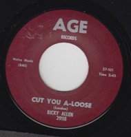 ALLEN  • RICKY ALLEN - CUT-A YOU LOOSE