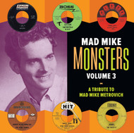 340 VARIOUS ARTISTS - MAD MIKE MONSTERS VOL. 3 LP (340)